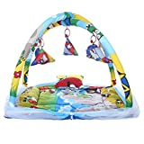 CuteBabyLove Baby Bedding Set with Mosquito Net and Play Gym with Hanging Toys