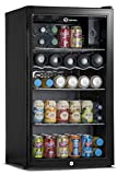Subcold Super85 LED - Under-Counter Fridge | 85L Beer, Wine and Drinks Fridge | LED Light + Lock and Key | Low Energy A+ (Black)