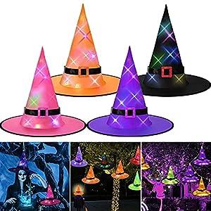 kekechaoran 4 Sombreros de Bruja