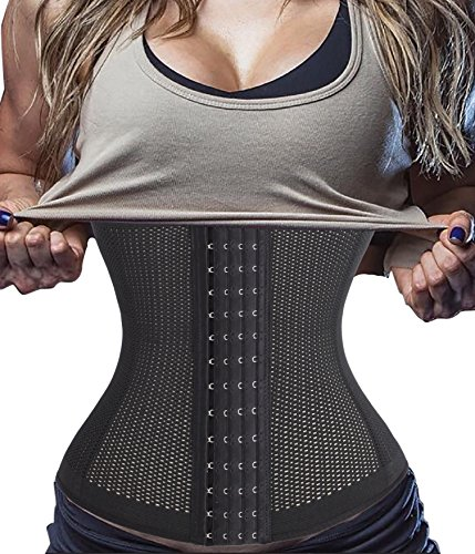korsett-corsage-waist-trainer-cincher-mit-4-stahlstabchen-dessous-lingerie-mieder-m-fits-255-275-inc