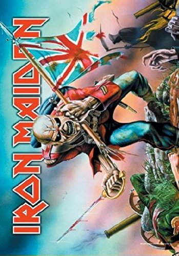 Iron Maiden Poster Bandiera Trooper