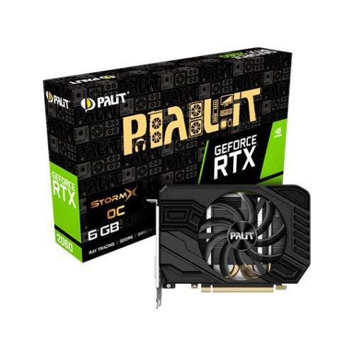 Palit PCIe RTX2060 StormX OC 6GB DDR6 Grafikkarte