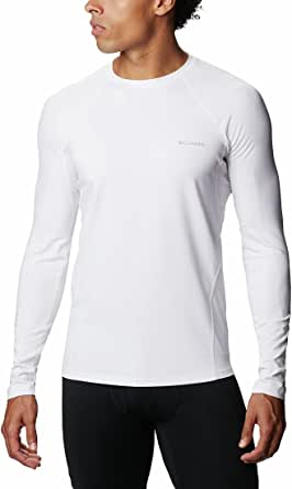 Columbia Baselayer da Uomo, Midweight Stretch Long Sleeve Top, Poliestere,1638591