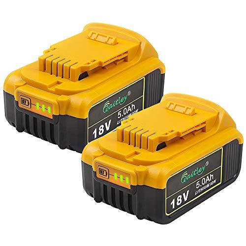 IMaxpower DCB184 18V 5Ah Compatibile con Dewalt 18Volt XR Batteria Litio DCB184-XJ DCB183-XJ