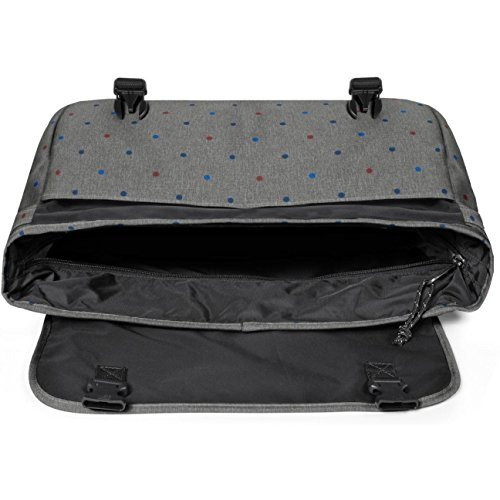 Eastpak Eastpakdelegate/Leather - Borsa a Tracolla - Brownie Leather Trio dots