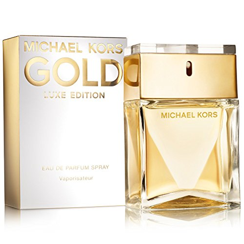 Michael Kors Gold Luxe Edition Eau de Parfum Spray for Women, 3.4 Ounce by Michael Kors