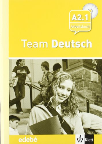 Team Deustch 3 Arbeitsbuch - Cuaderno de ejercicios + CD Nivel A2.1 - 9788423670642 por Ernst Klett Sprachen GmbH