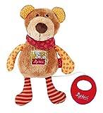 sigikid, Mädchen und Jungen, Spieluhr, Stofftier Bär, Red Stars Collection, Braun,  40357