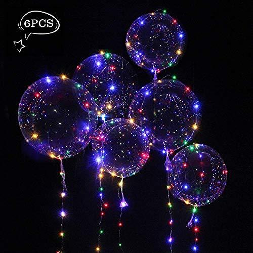 ium Balloon Gas Leucht Luftballon Weiss Zuhause Dekoration Zum Party Hochzeit Weihnachten Festival ()