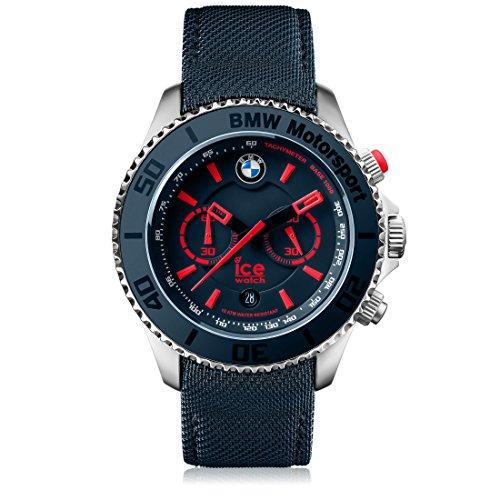 Orologio Unisex Ice-Watch, BMW Motorsport, Nero e Grigio, Taglia L