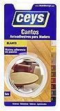 Ceys 850002 - Rollo 5M. Canto De Melamina Blanco 850002