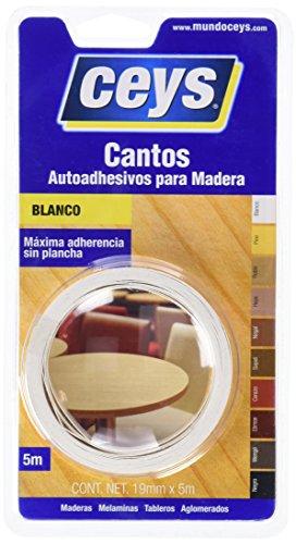 CEYS Canto De Melamina Blanco 850002 0 W, 0 V, Azul 0