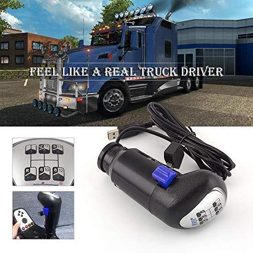 color tree USB Schaltknauf von Einem Man Truck ATS & ETS2 Spiele Logitech G29 G27 G25 G920