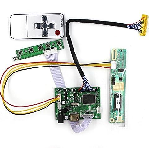 HDMI-Eingang LCD-Controller-Karte für 15,4