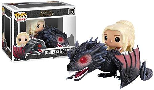 POP Game Of Thrones Drogon And Daenerys