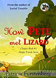 How Pete met Lizard, Chapter Book #1: Happy Friends, diversity stories children's series