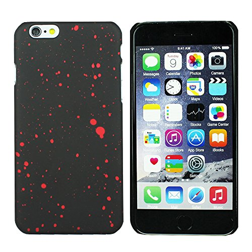 Heartly Night Sky Glitter Star 3D Printed Design Retro Color Armor Hard Bumper Back Case Cover For Apple iPhone 6 Plus 5.5 inch - Hot Red  available at amazon for Rs.129