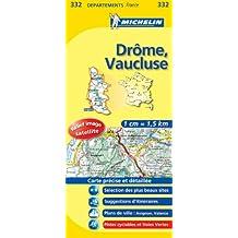 Carte DEPARTEMENTS Drome, Vaucluse