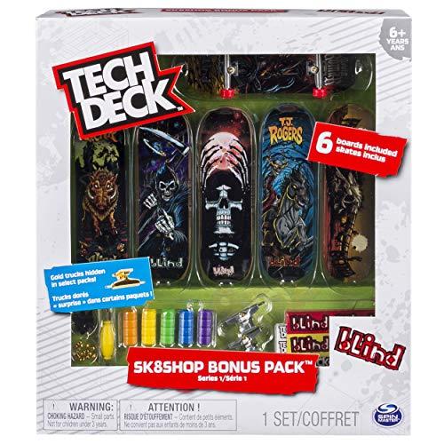 Tech Deck sk8shop Bonus Pack (Stile variieren) - Tech Räder Deck