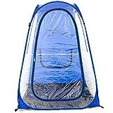 iHome&iLife Automatic Pop Up Instant Portable Outdoors Quick Cabana Beach Tent Sun Shelter Beach Umbrella 1-Person 3-Season