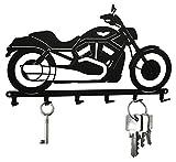 Schlüsselbrett / Hakenleiste * Motorrad Cycle - Club * - Schlüsselboard , Schlüsselleiste, Metall - 6 Haken