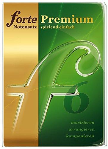 Forte 6 Premium Notationsprogramm für anspruchsvolle Hobby-und Profimusiker.