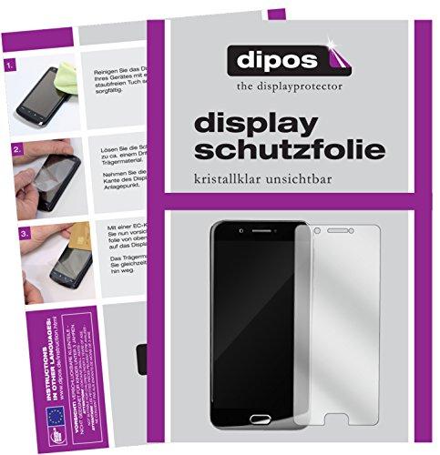 dipos I 6X Schutzfolie klar passend für YotaPhone 3 Folie Displayschutzfolie (3X Vorder- & 3X Rückseite)