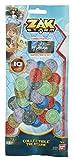 Bandai 41620Zak Storm Collectible Treasure monete 10pezzi