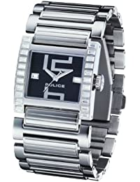 Police Elation P11748LS-02M - Reloj de mujer de cuarzo, correa de acero inoxidable color negro