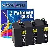 PlatinumSerie® 3 Drucker-Patronen XXL für TE2711 kompatibel zu Epson Black WorkForce WF-3600 Series WF-3620 DWF WF-3620 WF WF-3640 DTWF