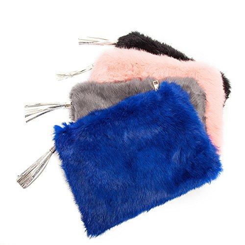 Flada , Pochette pour femme bleu 3# moyen 6#