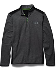 Under Armour Fitness Sweatshirt CGI Performance 1/4 Zip - Sudadera de golf para hombre, color blk/stl, talla XL