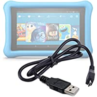 Premium Quality Micro USB 2.0 Data Transfer, Sync & Charge Cable for Amazon Fire HD 8 Kids Edition | HD 7 | HD 6 | HDX 8.9 | HD 10 | 7 | Amazon Fire | Amazon Fire HD | - by DURAGADGET