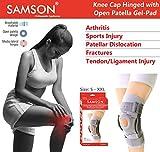 Samson Knee Cap Hinged with Open Patella & Gel Pad (Deluxe) -