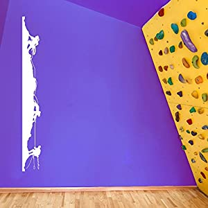 rockclimbing roca Boldering escalada 05 decoraciones de pared pegatinas de ventana decoración de la pared pegatinas de pared Wall Art adhesivos de pared pegatinas de pared de vinilo Adhesivos Mural Decoración DIY Deco removibles etiquetas de la pared pegatinas de colores