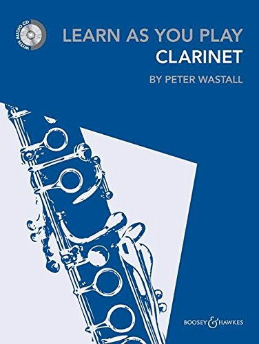 Learn As You Play Clarinet (Book & CD)