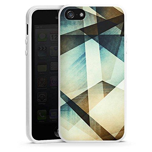 Apple iPhone 4 Housse Étui Silicone Coque Protection Motif Motif Graphique Housse en silicone blanc
