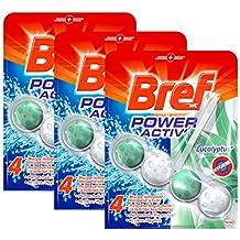 Bref WC Power Activ Hygiène 50 g - Blocs Nettoyants WC - Lot de 3