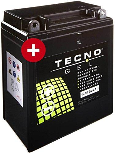 GEL Batterie YB12A-A Honda XL 600 V Transalp 1987-2000 von TECNO