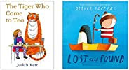 The Tiger Who Came To Tea + Lost And Found (Set of 2 Books)