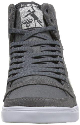 Hummel Fashion - Chaussures Hummel 'Slimmer Stadil High', de sport - HUMMEL SLIMMER STADI Gris (Castle Rock/White Kh)