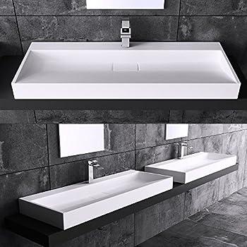 BTH: 70x46x11 cm Design Waschbecken Colossum19, aus