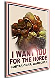 Instabuy Poster Thrall I Want You World of Warcraft - A3 (42x30 cm)