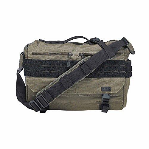 5.11 Tactical Rush Delivery Lima Bag - OD Trail (Messenger Bag Cross-strap)