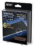 BaKblade2.0 Lot de 6lames de sécurité de 9cm de large pour rasage lisse et sûr à sec Pour le corps
