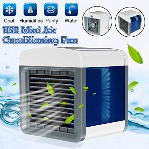 Hot!!! 2019 Tragbare Klimaanlage Air Cooler Luftbefeuchter/ 3 in1 Mobile Klimaanlage Luftreiniger Büro Desktop-Luftkühler Mini-Ventilator für Zuhause/drinnen, Küche, im Freien Fan