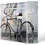 Burg-Wächter diseño de buzón, chapa de acero de colour blanco, por correo electrónico 5877 vatios de correo 36 x 32 x 10 cm con diseño de nostalgia de la rueda