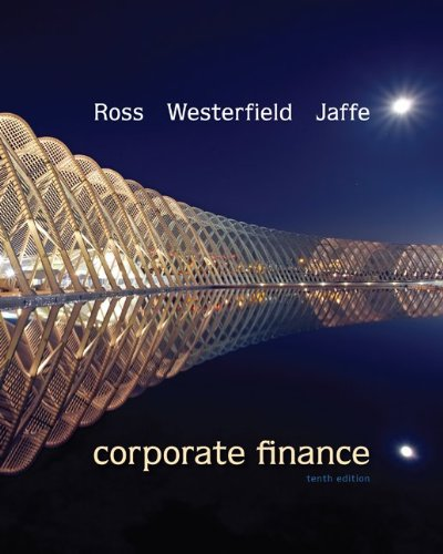Corporate Finance (Mcgraw-hill/Irwin Series in Finance, Insurance and Real Estate) por Stephen A. Ross