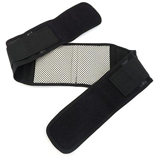 saysure-pcs-black-infrared-magnetic-back-brace-posture-belt-lumbar-support