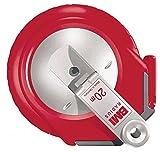 BMI BAYERISCHE MASSINDUSTRIE ARNO KELLER GMBH 50121 Stahlbandmaß Radius L.20m mm/- weiß Flextop BMI Genauigk.II